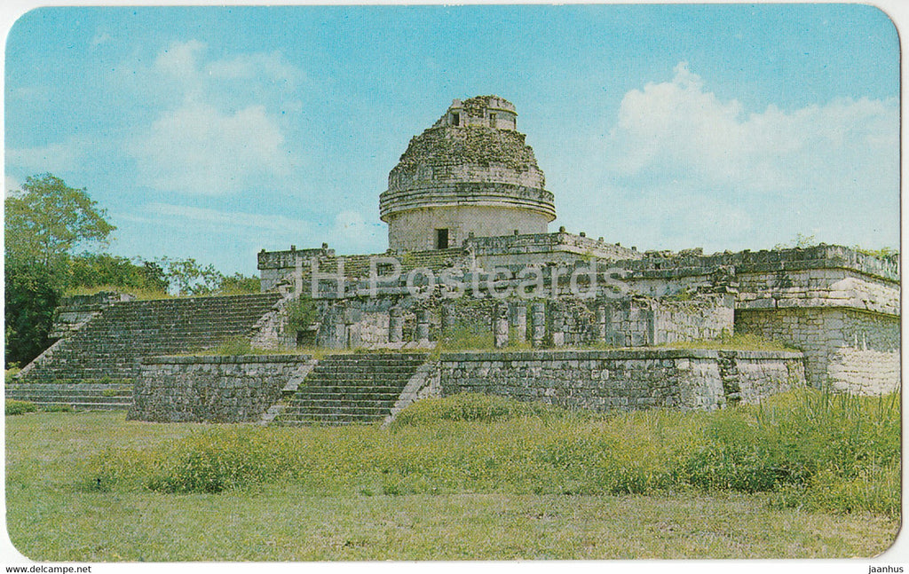 The Snail - Mayan Astronomical Observatory - Chichen Itza - El Caracol - Mexico - unused - JH Postcards