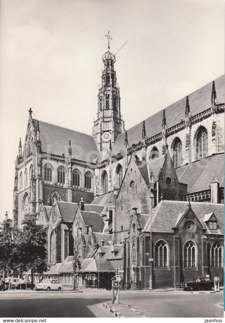 Haarlem - Grote of St Bavokerk - church - 372 - Netherlands - unused - JH Postcards