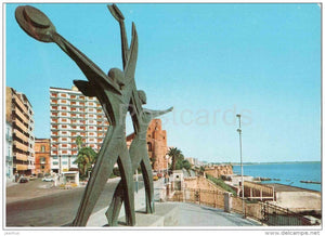 Monumento al marinaio - Seaman´s Memorial - bridge - Taranto - Puglia - 76 141 - Italia - Italy - unused - JH Postcards