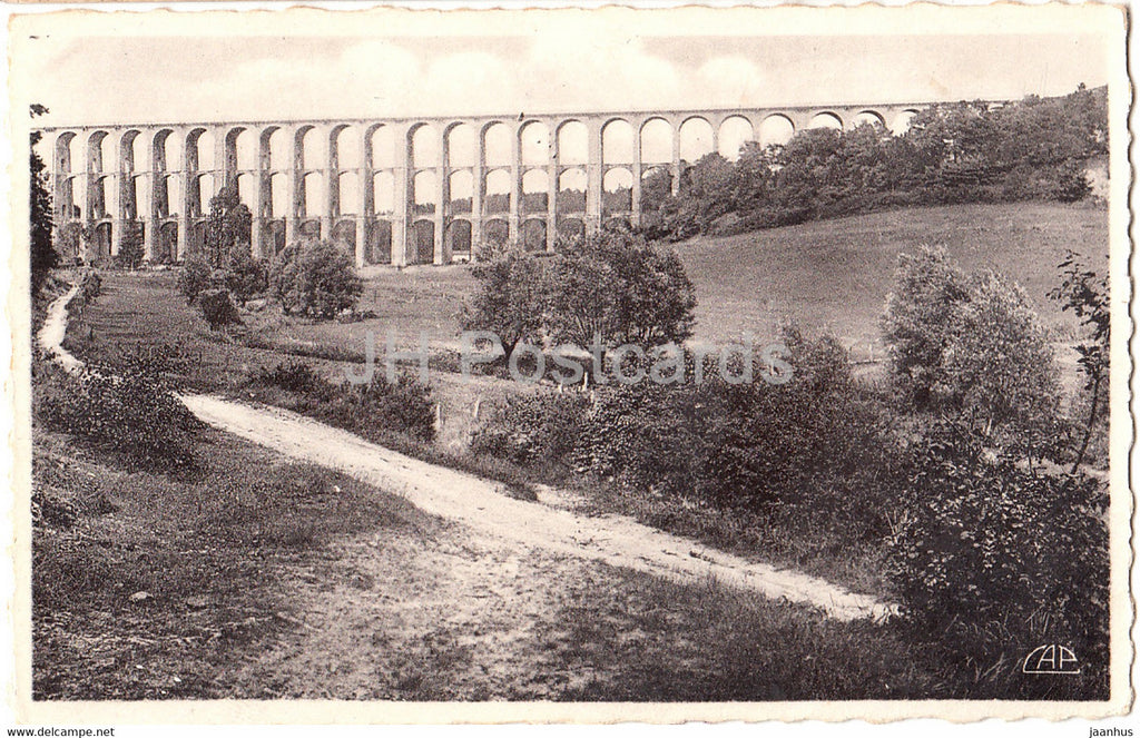 Chaumont - Le Viaduc  long 654 m - Vallee de la Suize - 91 - old postcard - France - unused - JH Postcards