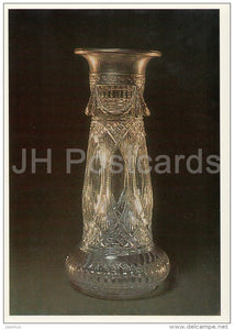 Vase - Faberge - silver - Silverwork by Russian Master Jewellers - 1987 - Russia USSR - unused - JH Postcards