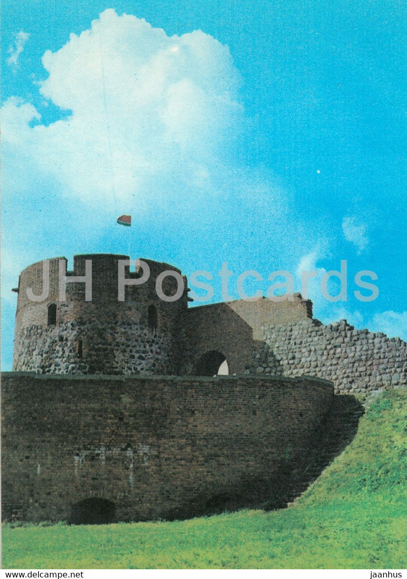 Kaunas - Castle of Kaunas - 1982 - Lithuania USSR - unused - JH Postcards