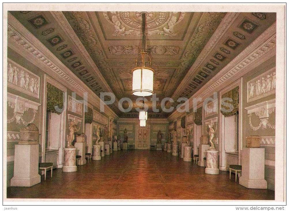 The Room for the Knights of Malta - Pavlovsk Palace Museum - 1982 - Russia USSR - unused - JH Postcards