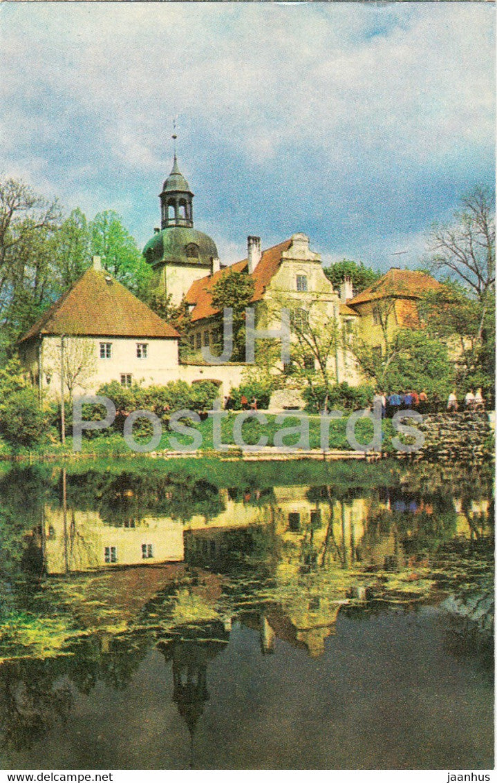 The Gauja National Park - Castle of Straupe - 1976 - Latvia USSR - unused - JH Postcards
