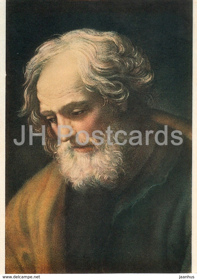 painting by Guido Reni - San Giuseppe - St. Joseph - Italian art - Italy - unused - JH Postcards