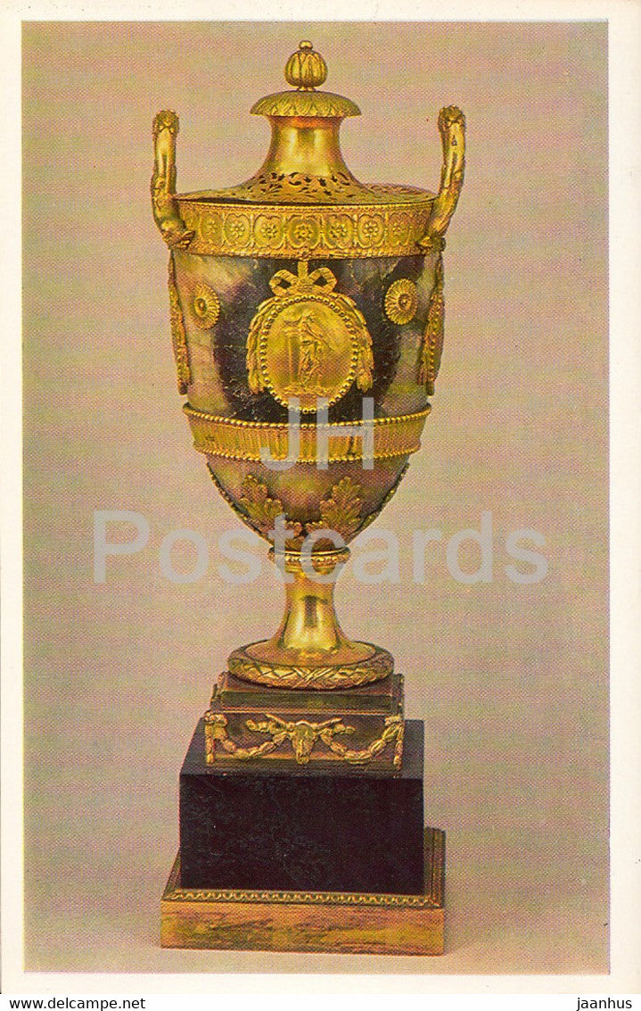 Case Censer - English Applied Art - 1983 - Russia USSR - unused - JH Postcards