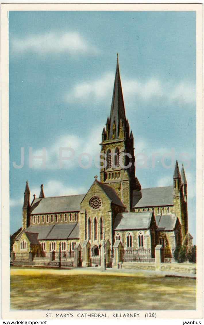 Killarney - St. Mary's Cathedral - 128 - 1970 - Ireland - used - JH Postcards