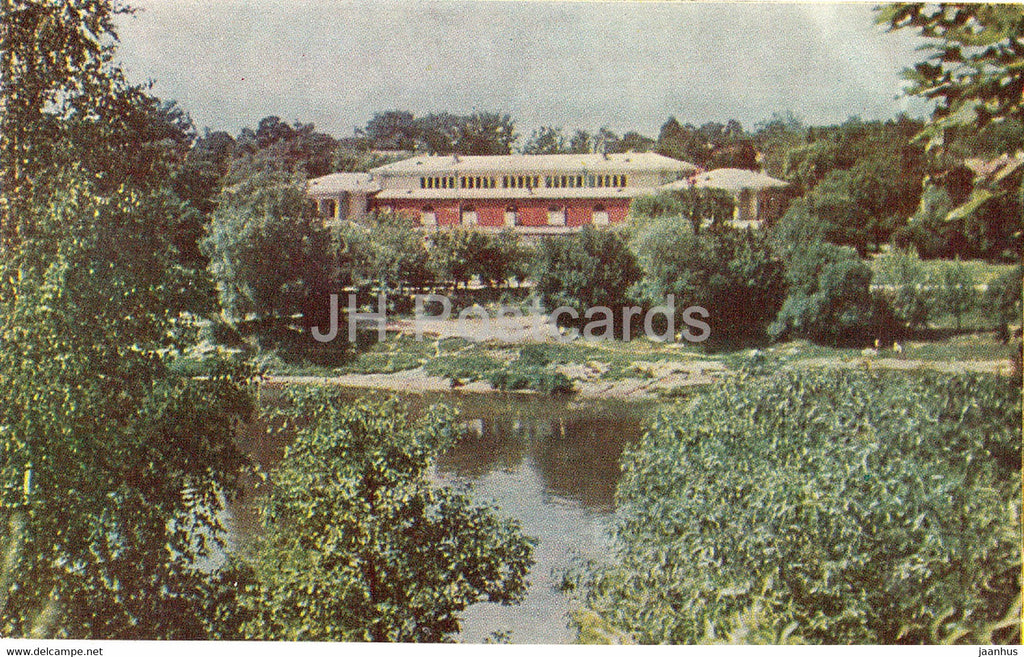 Druskininkai - Mud Baths - Lithuania USSR - unused - JH Postcards