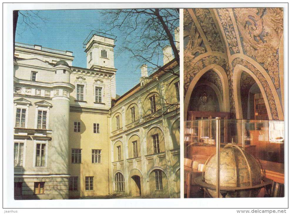 The University - Old Observatory - Vilnius - 1983 - Lithuania USSR - unused - JH Postcards