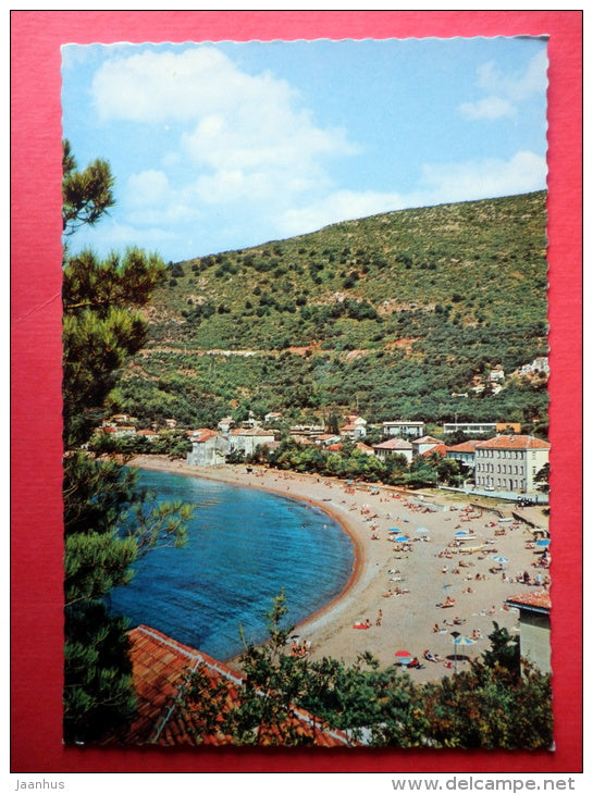 beach - Petrovac - Montenegro - Yugoslavia - unused - JH Postcards