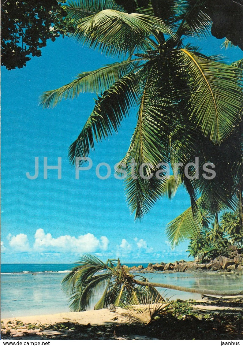 Beach View Mache - 105 - 1983 - Seychelles - used - JH Postcards