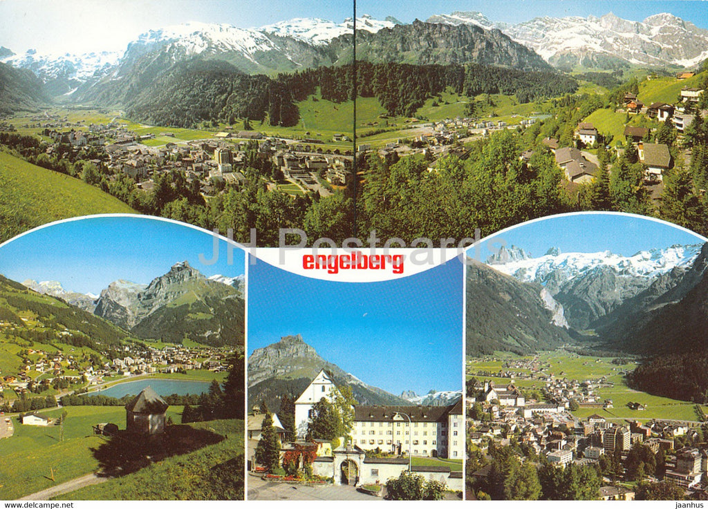 Engelberg - Zentralschweiz - multiview - 11325 - Switzerland - unused - JH Postcards