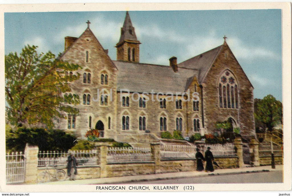 Killarney - Franciscan Church - 122 - 1970 - Ireland - used - JH Postcards