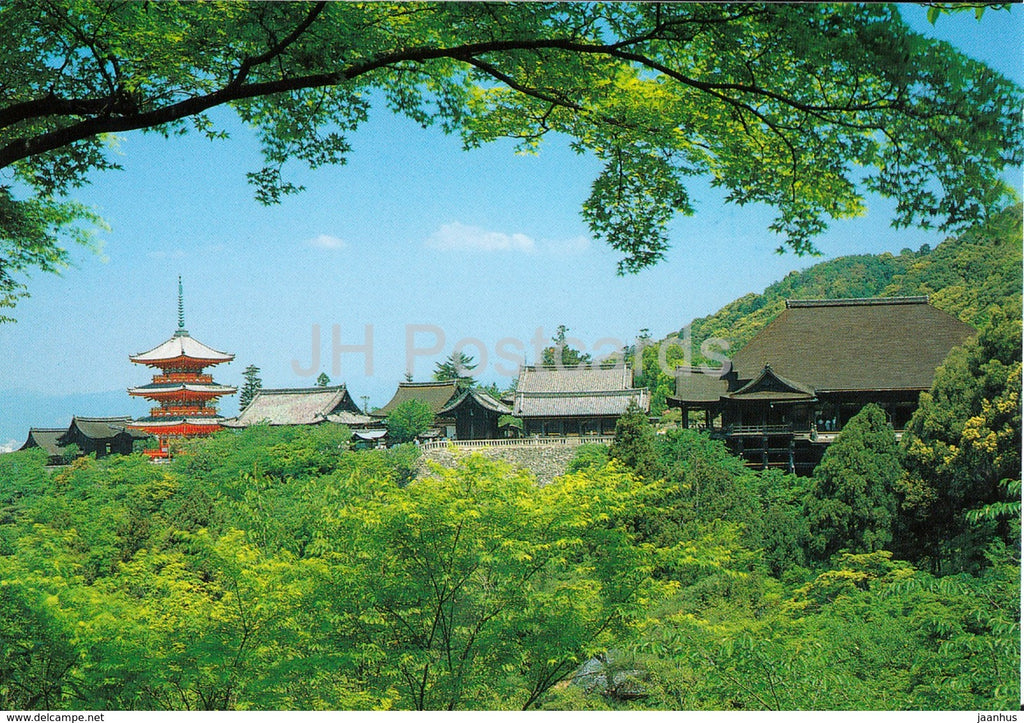 Kyoto - Kiyomizu Temple - Japan - unused - JH Postcards