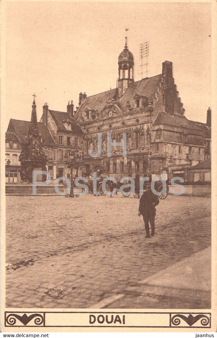 Douai - old postcard - France - unused - JH Postcards
