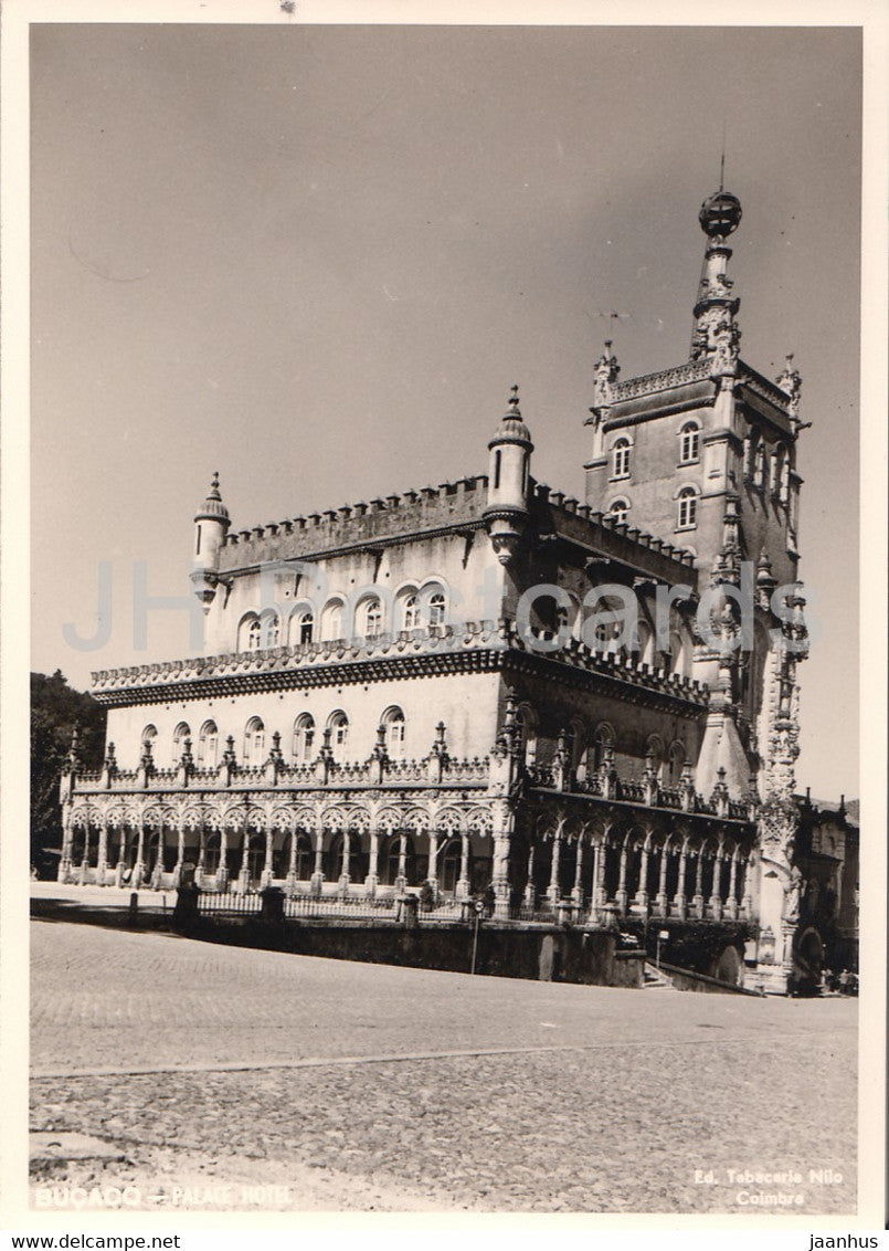 Bucaco palace hotel - 1964 - Portugal - used - JH Postcards