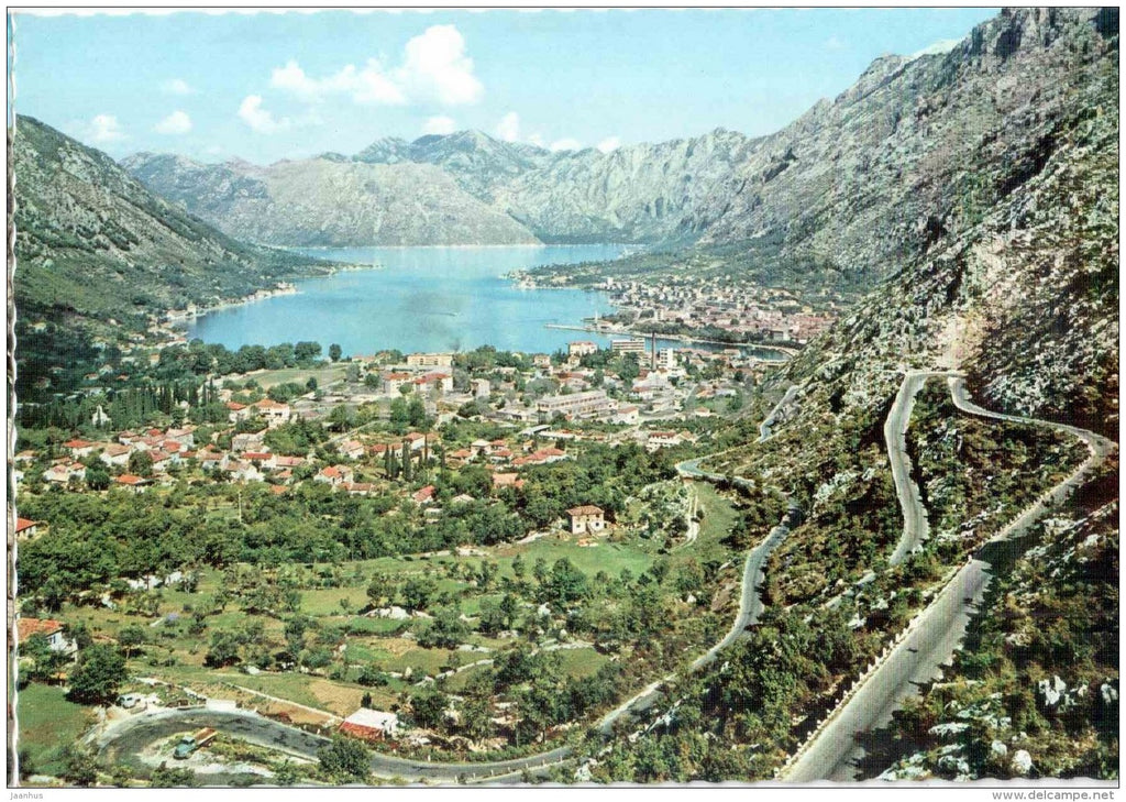 general view - Kotor - 428 - Montenegro - Yugoslavia - unused - JH Postcards