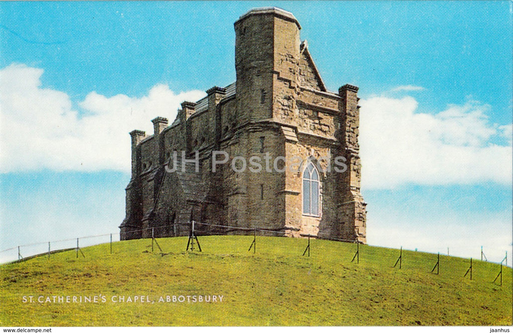 Abbotsbury - St. Catherine's Chapel - 1985 - United Kingdom - England - used - JH Postcards