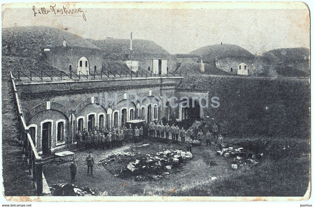 Lille Festung - Liller Kriegszeitung - 58 Inf Div Feldpost - Military - old postcard - 1915 - France - used - JH Postcards