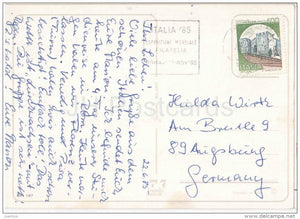 Saluti da Firenze - Firenze - Toscana - FIR 187 - Italia - Italy - sent from Italy to Germany 1985 - JH Postcards