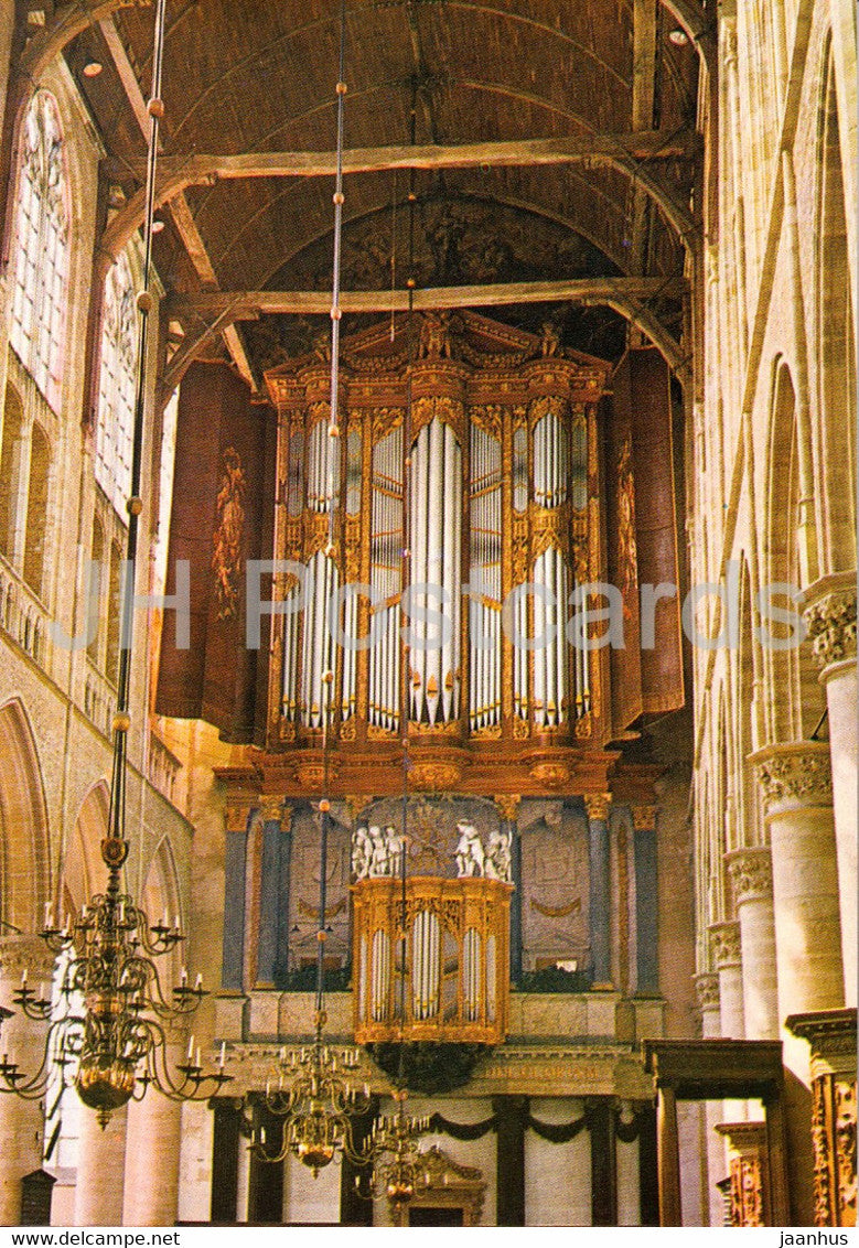Alkmaar - Grote Kerk - Grote Orgel - church - organ - Netherlands - unused - JH Postcards