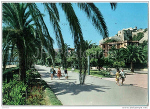 passeggiata - promenade - Finale Ligure - Savona - Liguria - 5184 - Italia - Italy - sent from Italy to Germany - JH Postcards