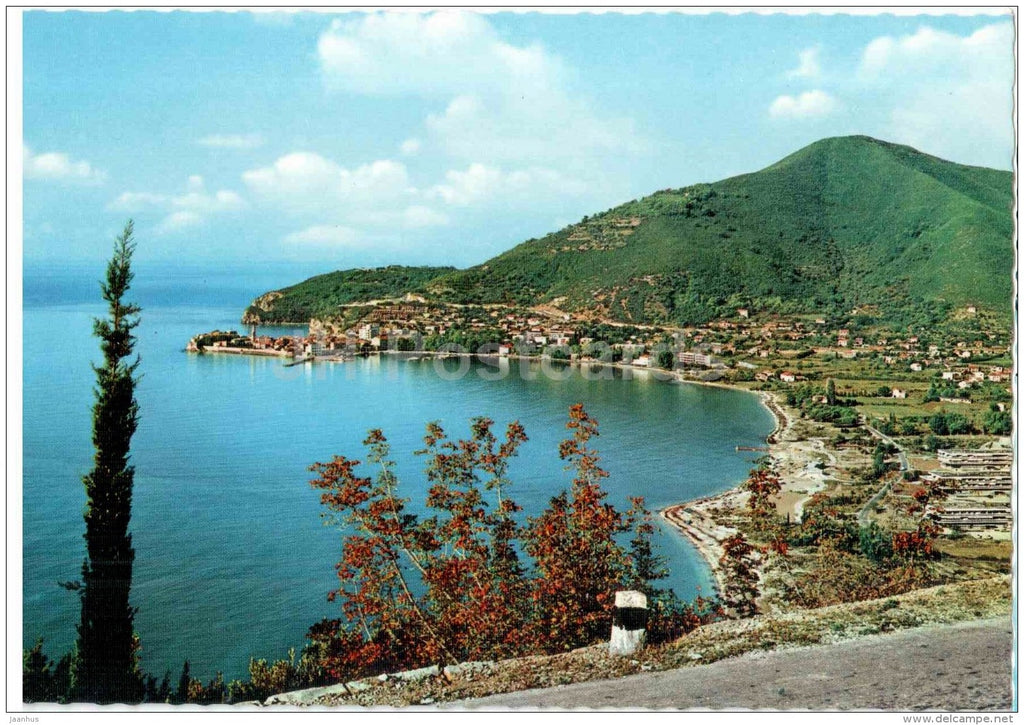 Budva - 416 - Montenegro - Yugoslavia - unused - JH Postcards