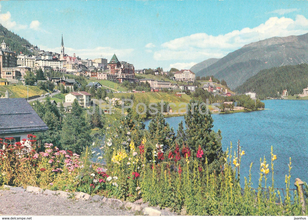 St. Moritz - 3249 - 1979 - Switzerland - used - JH Postcards