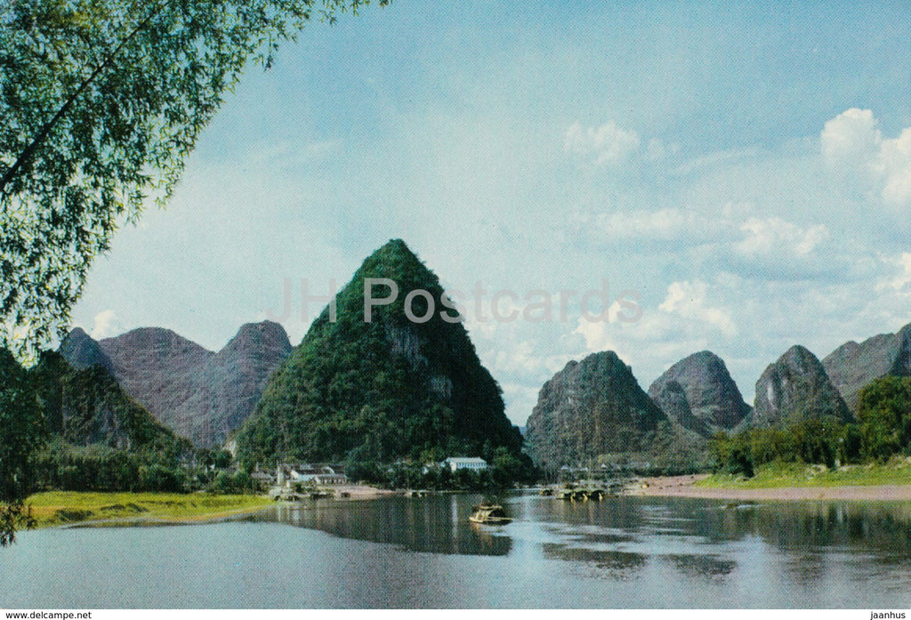 Kweilin - Guilin - Pilien Peaks - 1973 - China - unused