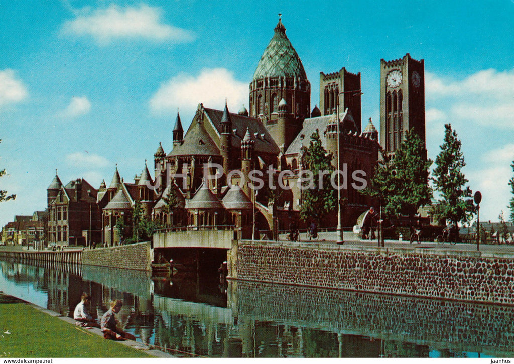 Haarlem - Sint Bavo Kerk - church - Netherlands - unused - JH Postcards
