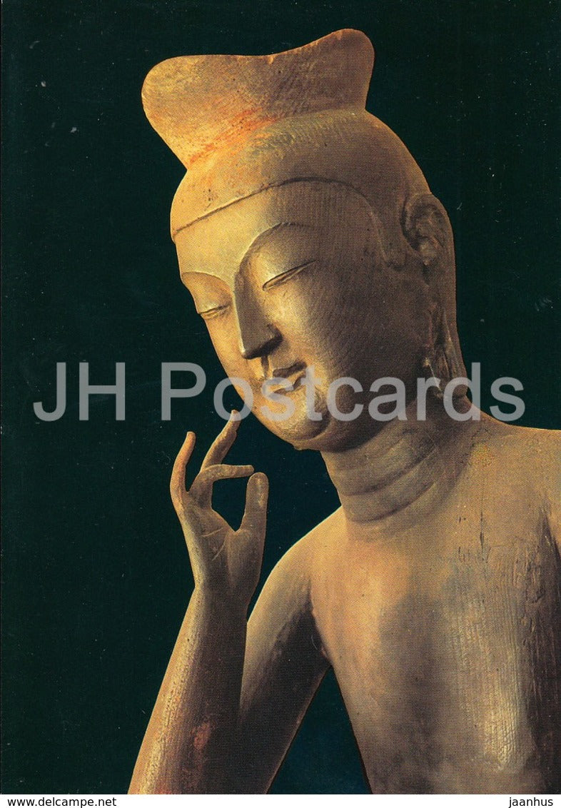 Kyoto - Buddhist Image of Mirokubosatsu - Japan - unused - JH Postcards