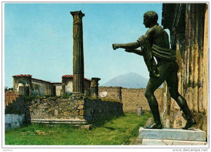 Tempio di Apollo - The Temple of Apollo - ruins - Pompei - Campania - 4040 - Italia - Italy - unused - JH Postcards