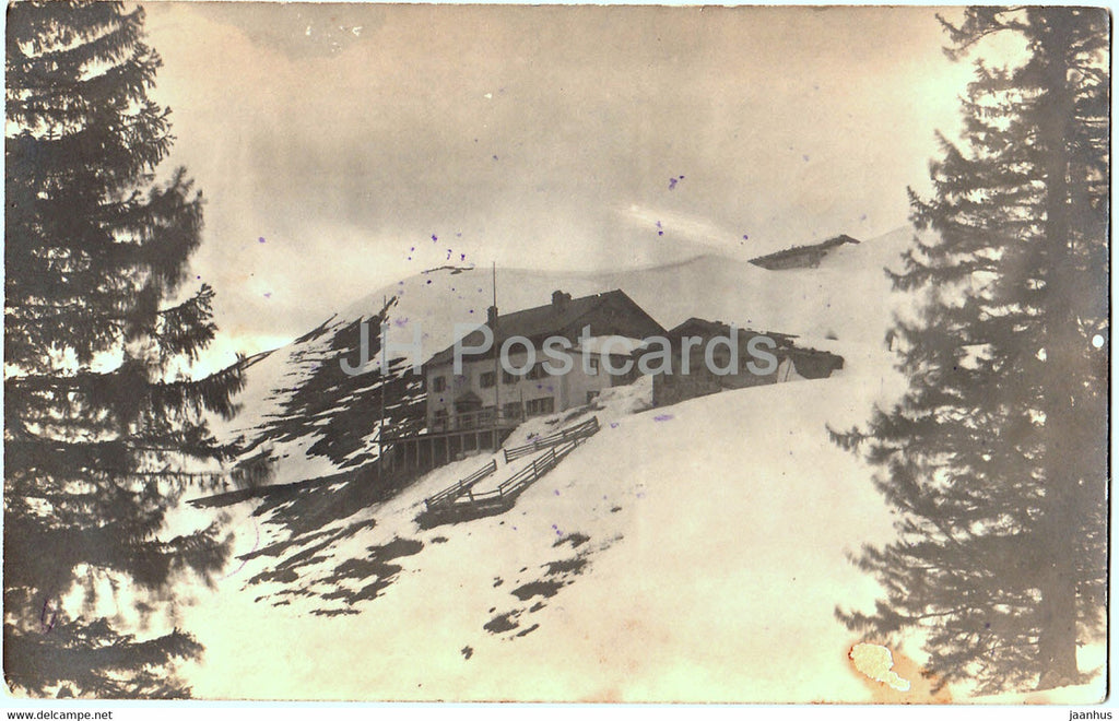 Spitzstein Haus - Ostern 1925 - old postcard - 1925 - Austria - used - JH Postcards