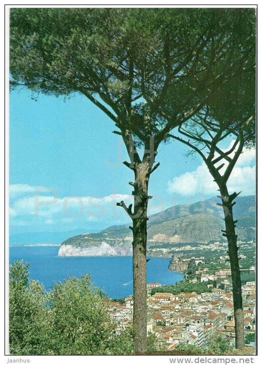 Panorama da Parisi - Panorama of Parisi - Sorrento - Italia - Italy - sent from Italy Sorrento to Germany Berlin 1970 - JH Postcards