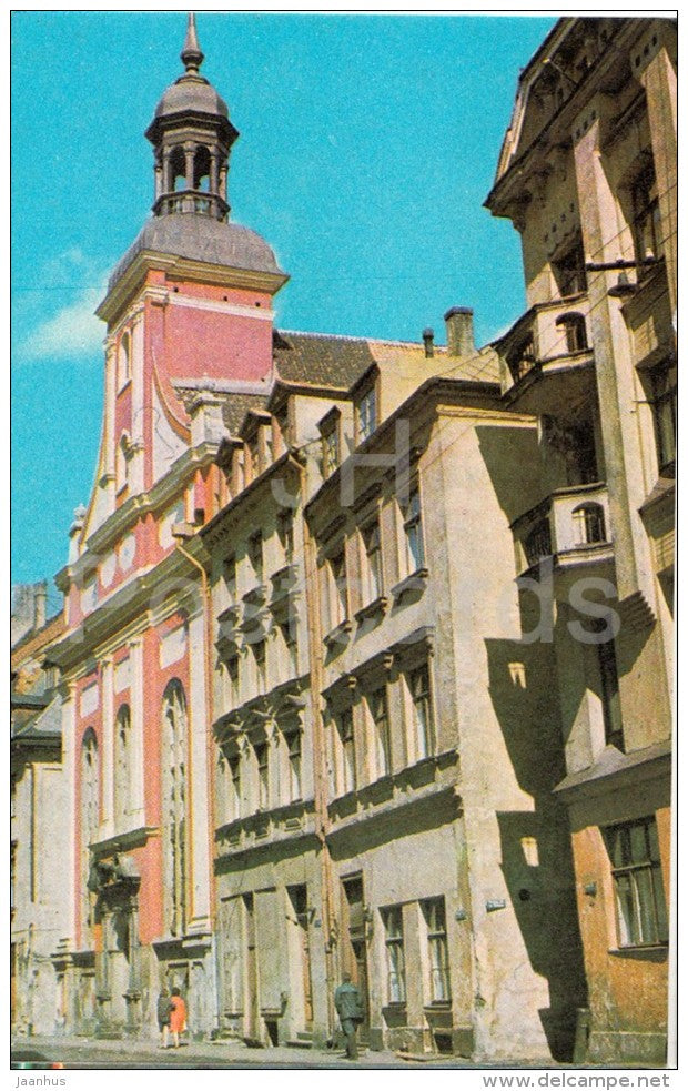 Marstaju street - Old Town - Riga - 1974 - Latvia USSR - unused - JH Postcards