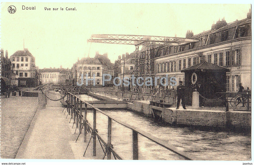 Douai - Vue sur le Canal - old postcard - France - unused - JH Postcards