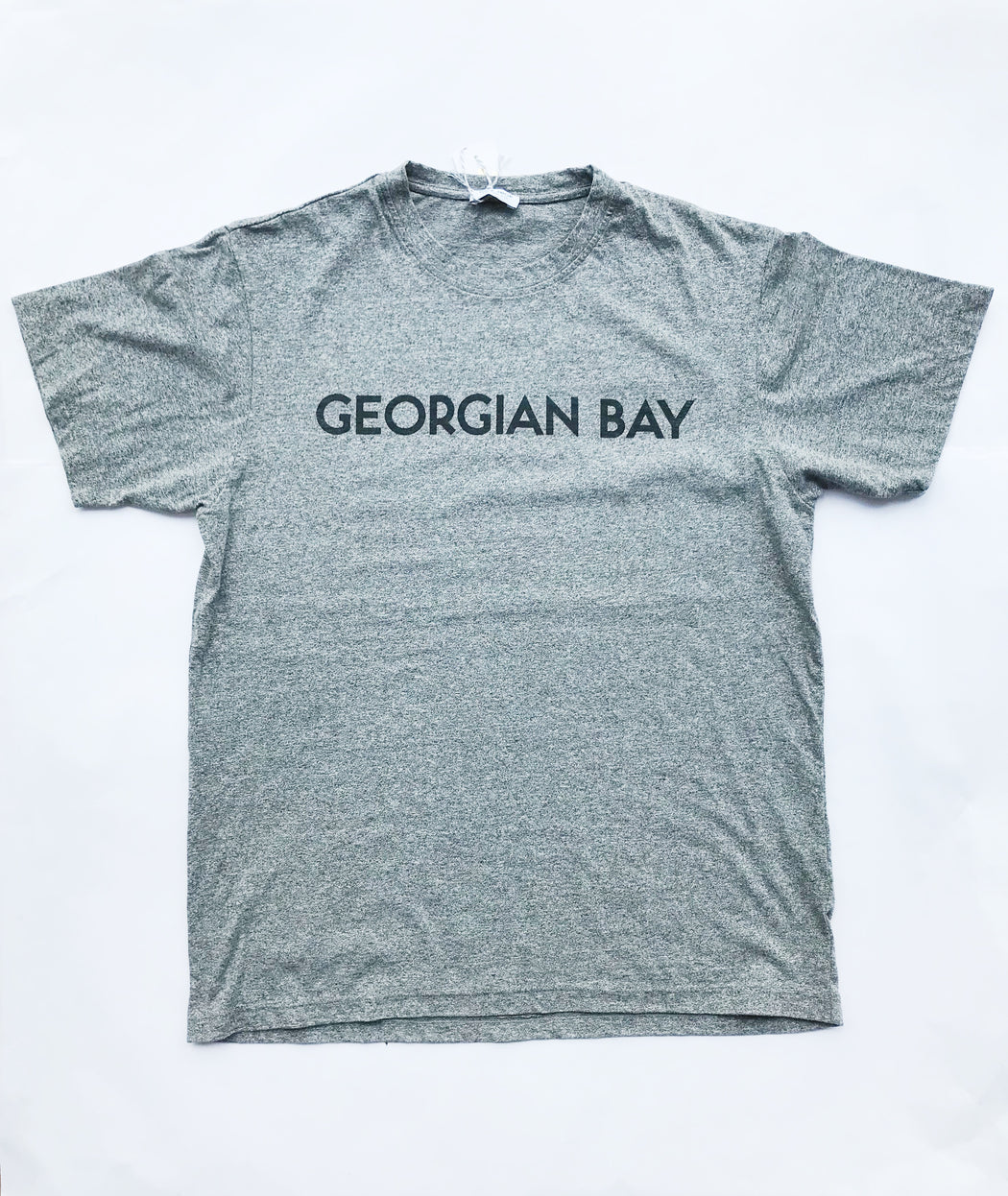 Georgian Bay Men's Tee - Salt and Pepper