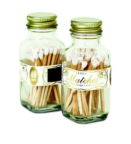 Vintage Matches - small (white)