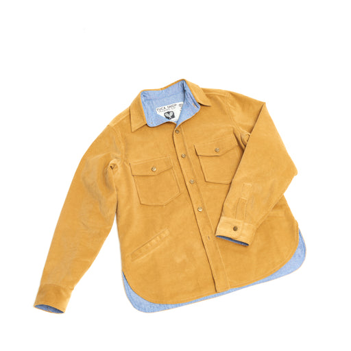 Men's Corduroy Cottage Coat (Camel)