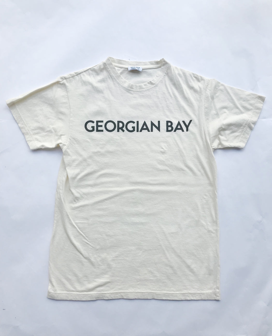 Georgian Bay Men's Tee - Natural