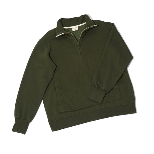 Unisex CORE 1/4 Zip (Camp Green)