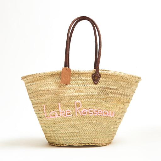 Cottage Tote - Lake Rosseau Rose Pale