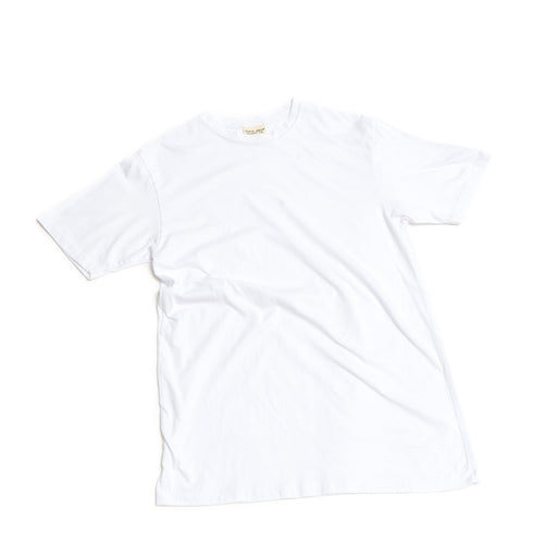 Unisex CORE Cotton Tee White