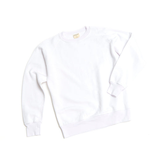 Unisex CORE Bamboo/Cotton Fleece Crewneck (White)