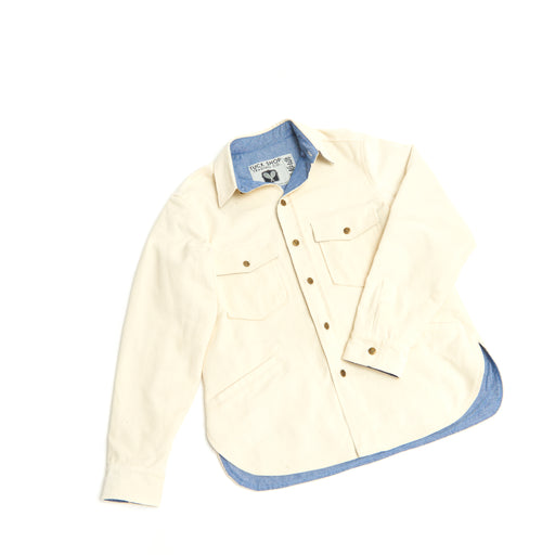 Men's Corduroy Cottage Coat (Ecru)