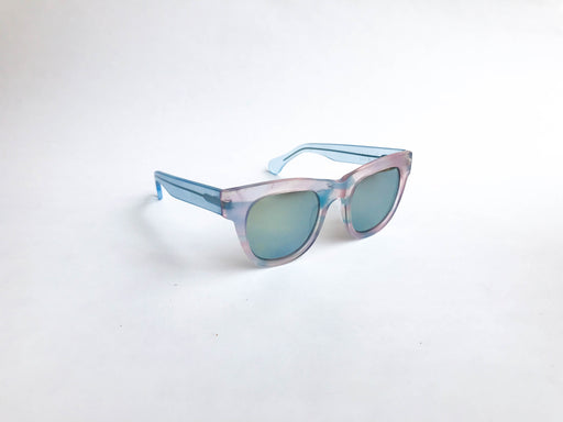 Sunglasses RE:FE Dewie Sheer Blue Pink Multi