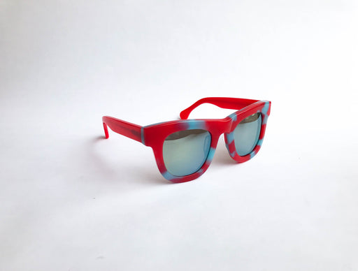 Sunglasses RE:FE Dewie Red Blue Mirrored Multi