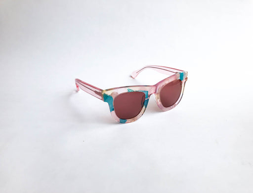 Sunglasses RE:FE Dewie  Blue Pink Multi