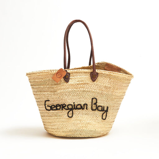 Cottage Tote - Georgian Bay, Black