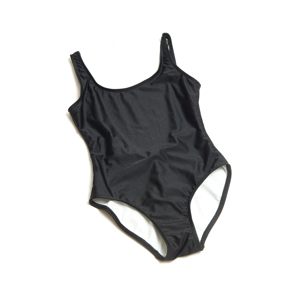 Black Tank Bather